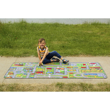 Giant Road Map Play Carpet 1