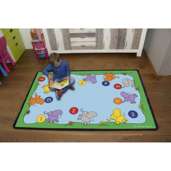 Playful Numbers 1-10 Rug