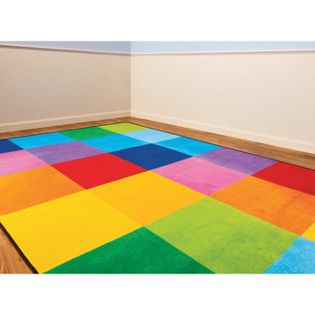 Rainbow Mosaic - Rectangle Small Rug