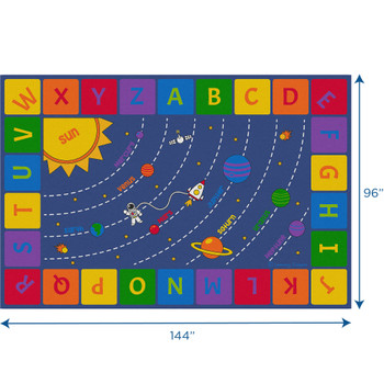 Solar System - Rectangle Large Rug