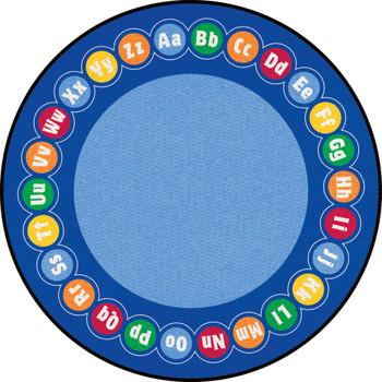 ABC Rotary - Round Large Rug 1