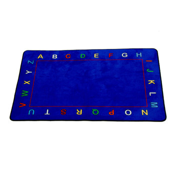 Alphabet Value Rug - Rectangle Value Size Rug