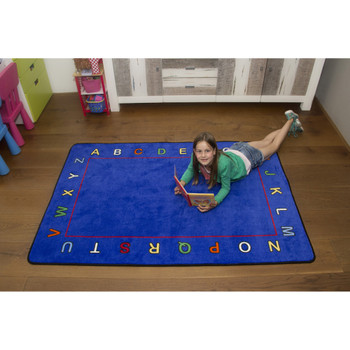 Alphabet Value Rug - Rectangle Value Size Rug 2