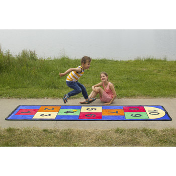 Jumbo Large Hopscotch - Rectangle Rug, CPR748