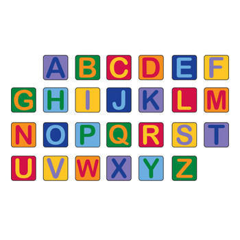 Alphabet Seating Squares - Set of 26