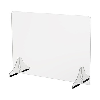 22″ Single Panel Sneeze Guard