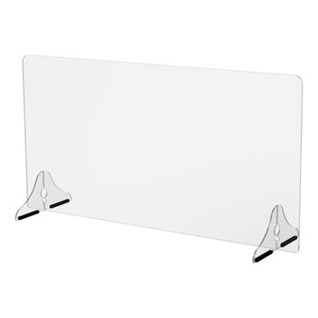 30″ Single Panel Sneeze Guard