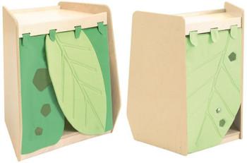 Grow.upp Wide Trapezoid Cabinet w/Leaf