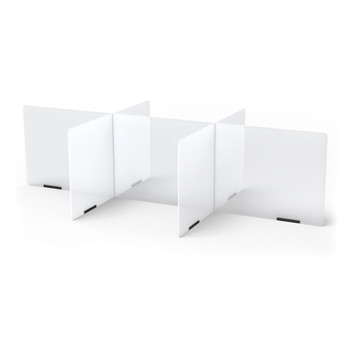 See-Thru Table Divider Shields - 6 Station 1
