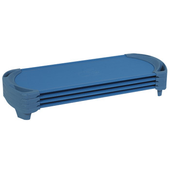SpaceLine® Cot Standard 4 Pack - Ocean Blue