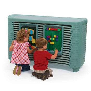 SpaceLine® Activity Center with SpaceLine® Cots - Teal Green