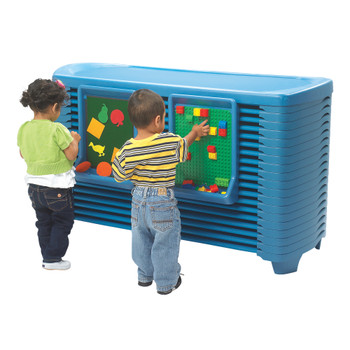 SpaceLine® Activity Center with SpaceLine® Cots - Ocean Blue