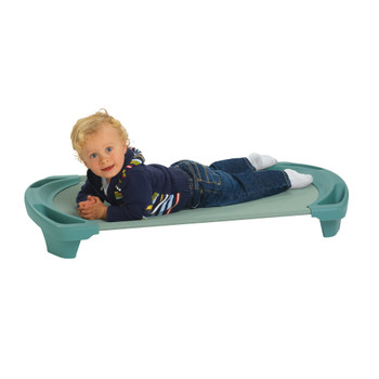 SpaceLine® Toddler Single Cot - Teal Green