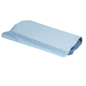 Sky Blue Cotton Blanket