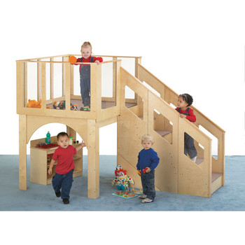 Jonti-Craft Tots Play Loft - 24-36 Months, 9752JC