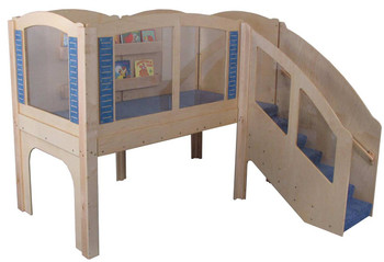 Mainstream Older Toddler Explorer 2 Wave Loft, steps on Right 1