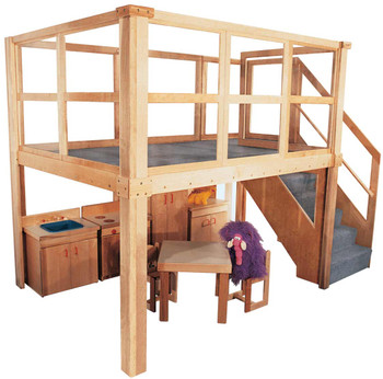Deluxe Preschool Navigator 2000 loft (other furniture not included) 1