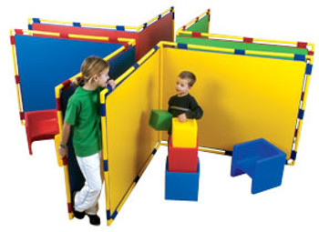 Children's Factory Corner Big Screen Panel in 4 Colors
