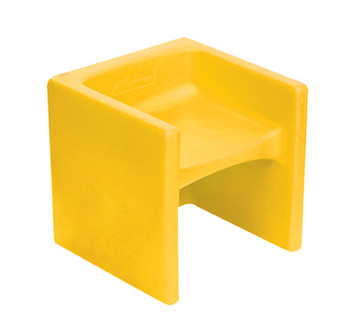 Yellow Cube Chair