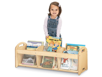 Jonti-Craft See Thru Toddler Book Browser 1