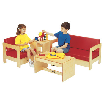 Jonti-Craft Child Living Room Set - Red 1