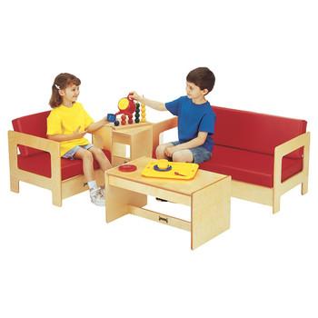 Jonti-Craft Child Living Room Set - Red 1