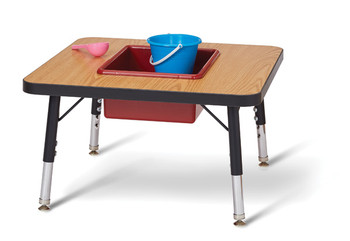 Toddler Adjustable Sensory Table 1