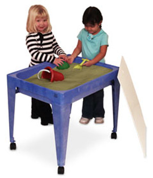 24 in. All-In-One Sand and Water Activity Center Blue