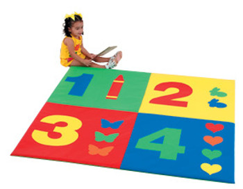 Children's Factory 1-2-3-4 Child Foam Activity Mat 1