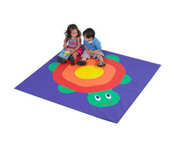 Children's Factory Turtle Child Activity Mat, CF362-001