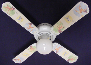 "Disney Bambi Thumper Ceiling Fan 42"" 1"