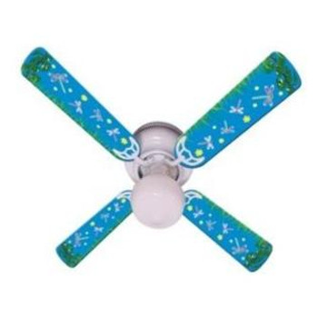 "Kids DragoNFLies & Fireflies Ceiling Fan 42"" 1"