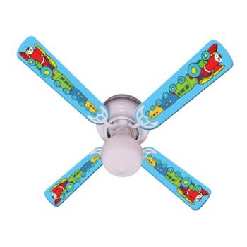 "Kids Train Choo Choo Ceiling Fan 42"" 1"