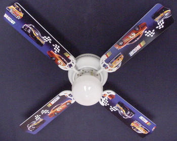 "Nascar Racing Ceiling Fan 42"" 1"