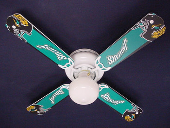 "NFL Jacksonville Jaguars Football Ceiling Fan 42"" 1"