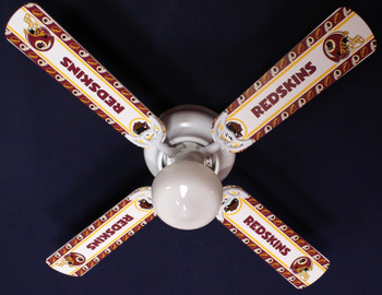 "NFL Washington Redskins Ceiling Fan 42"" 1"