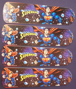 "Superman Marvel Superhero Ceiling Fan 42"" Blades"