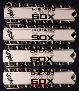 "Chicago White Sox Baseball Ceiling Fan 42"" Blades"