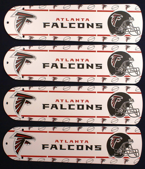 "NFL Atlanta Falcons Football Ceiling Fan 42"" Blades Only 1"