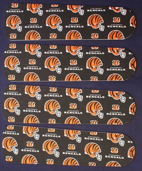 "Cincinnati Bengals Football Ceiling Fan 42"" Blades"
