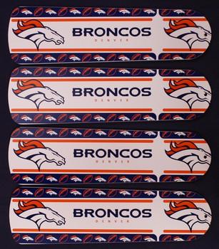 """NFL Denver Broncos Football Ceiling Fan 42"""" Blades Only"""