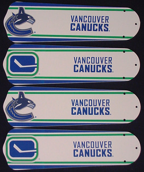 "NHL Vancouver Canucks Ceiling Fan 42"" Blades Only 1"