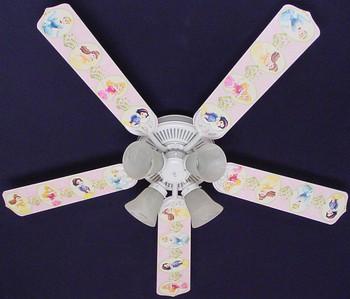 """Disney Princesses -Dancing Ceiling Fan 52"""" 1"""