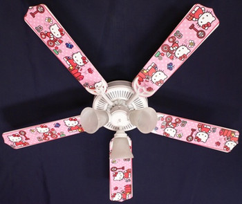 Hello Kitty Sweet Dreams Ceiling Fan 52""