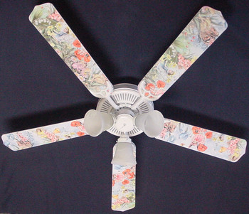 "Magical Fairies Ceiling Fan 52"" 1"