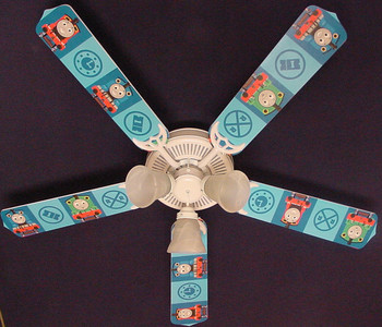 Thomas Tank Engine Train Percy Ceiling Fan 52""