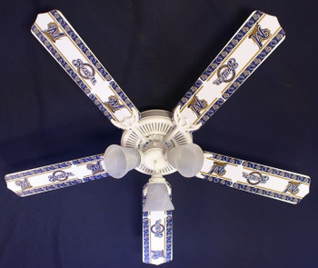 Milwaukee Brewers Baseball Ceiling Fan 52""