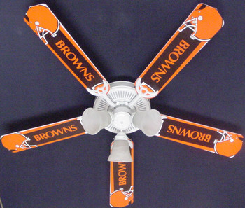 "NFL Cleveland Browns Ceiling Fan 52"" 1"