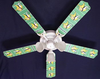NFL Minnesota Vikings Football Ceiling Fan 52""