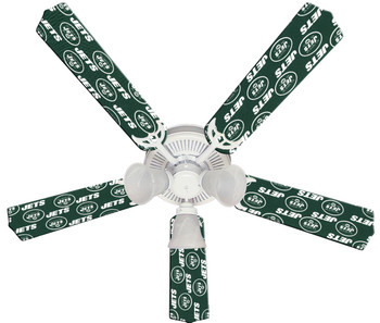 New York Jets Football Ceiling Fan 52""